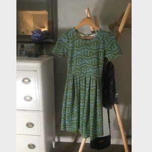 "Lularoe ""Amelia"" Dress, size XS"